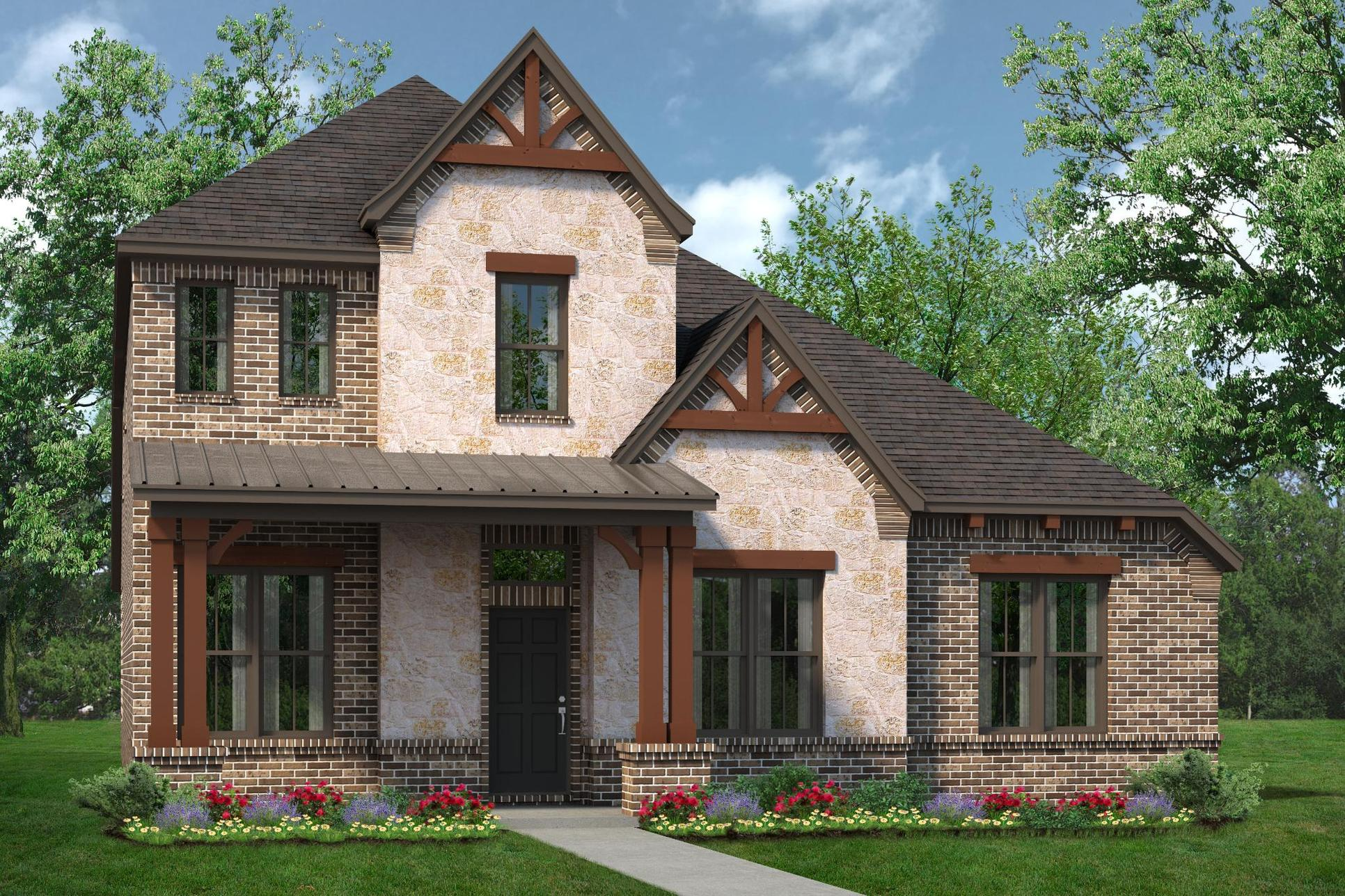 Exterior:2795 D with Stone