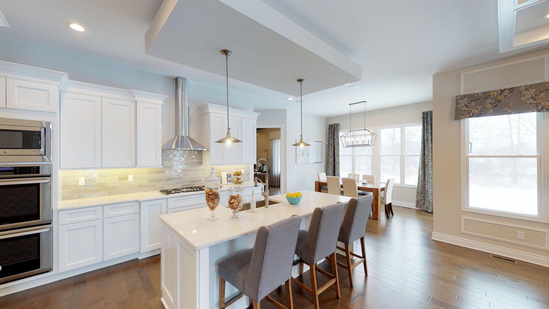 Oakhurst model kitchen