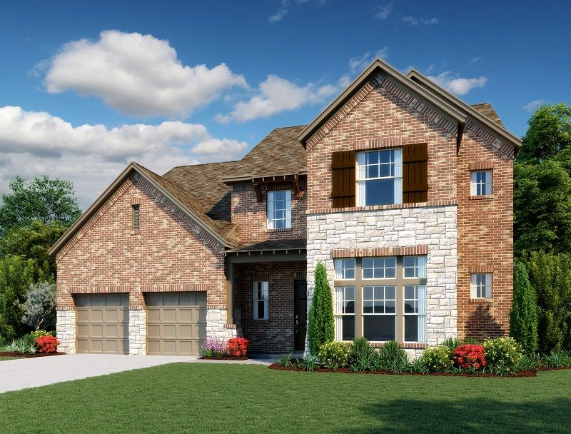 Exterior:Victoria Home Plan by Ashton Woods