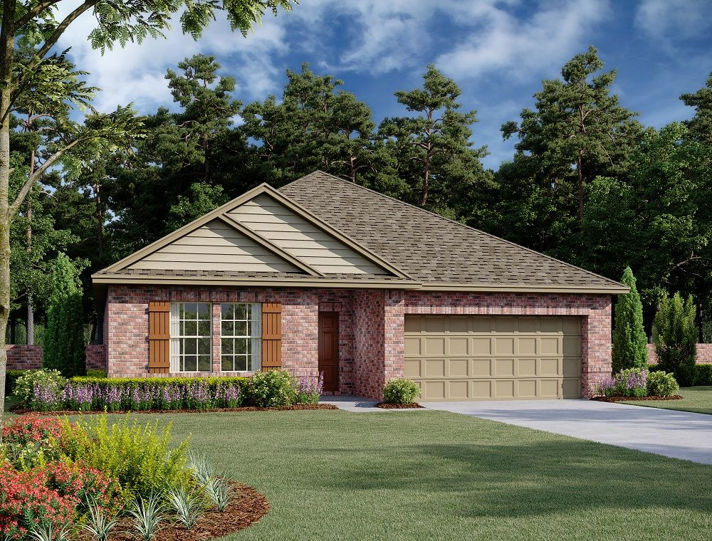 Exterior:Bowie Home Plan by Ashton Woods