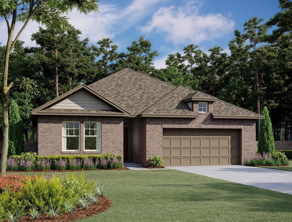 Exterior:Crockett Home Plan by Ashton Woods