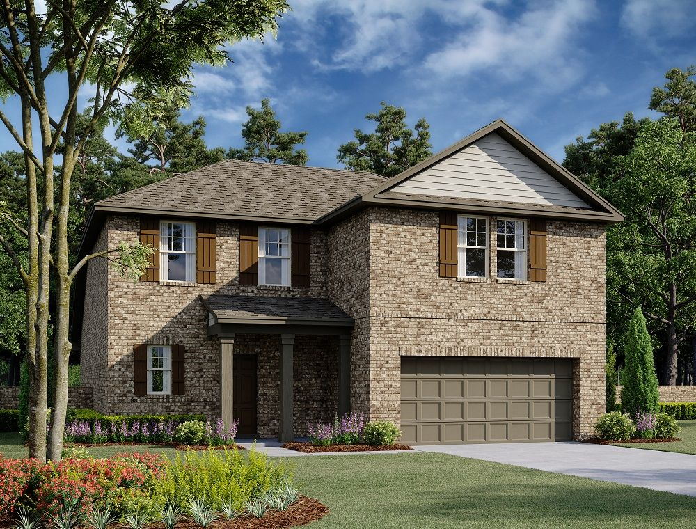 Exterior:Knox Home Plan by Ashton Woods