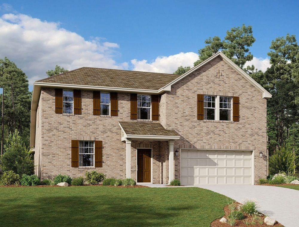Exterior:Martin Home Plan by Ashton Woods