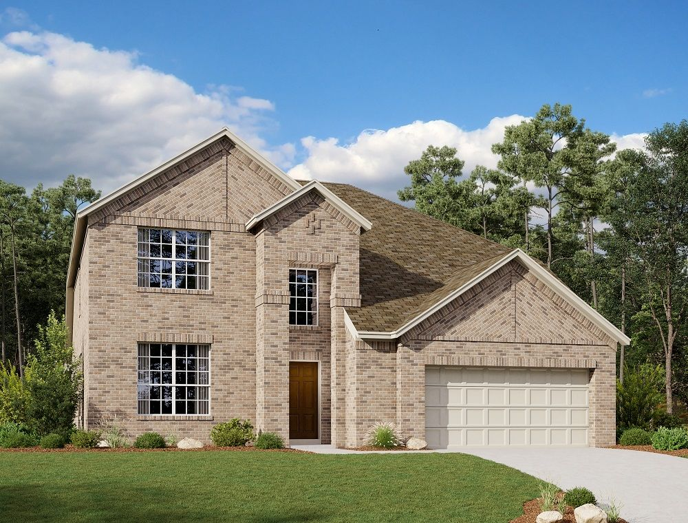 Exterior:Tyler Home Plan by Ashton Woods
