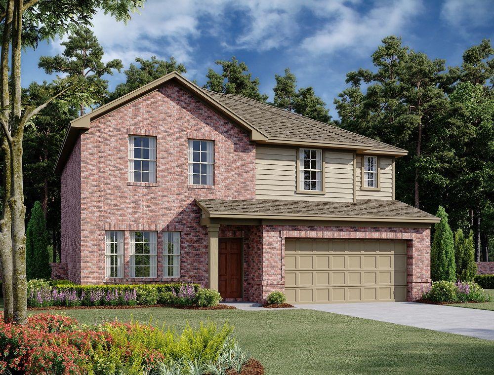 Exterior:Jefferson Home Plan by Ashton Woods
