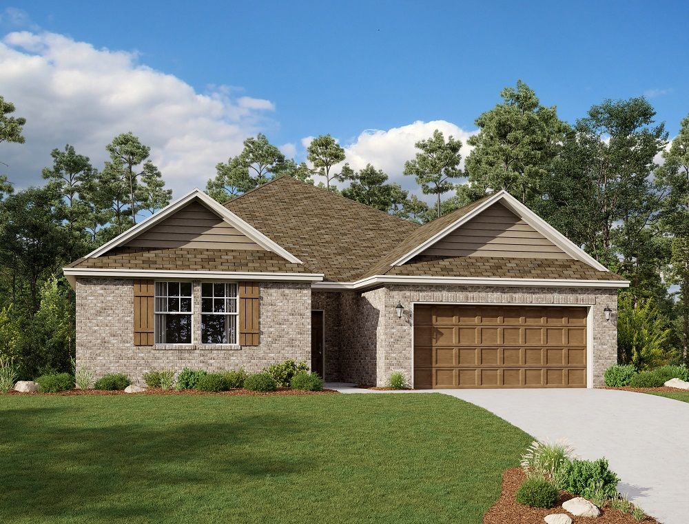 Exterior:Lampasas Home Plan by Ashton Woods