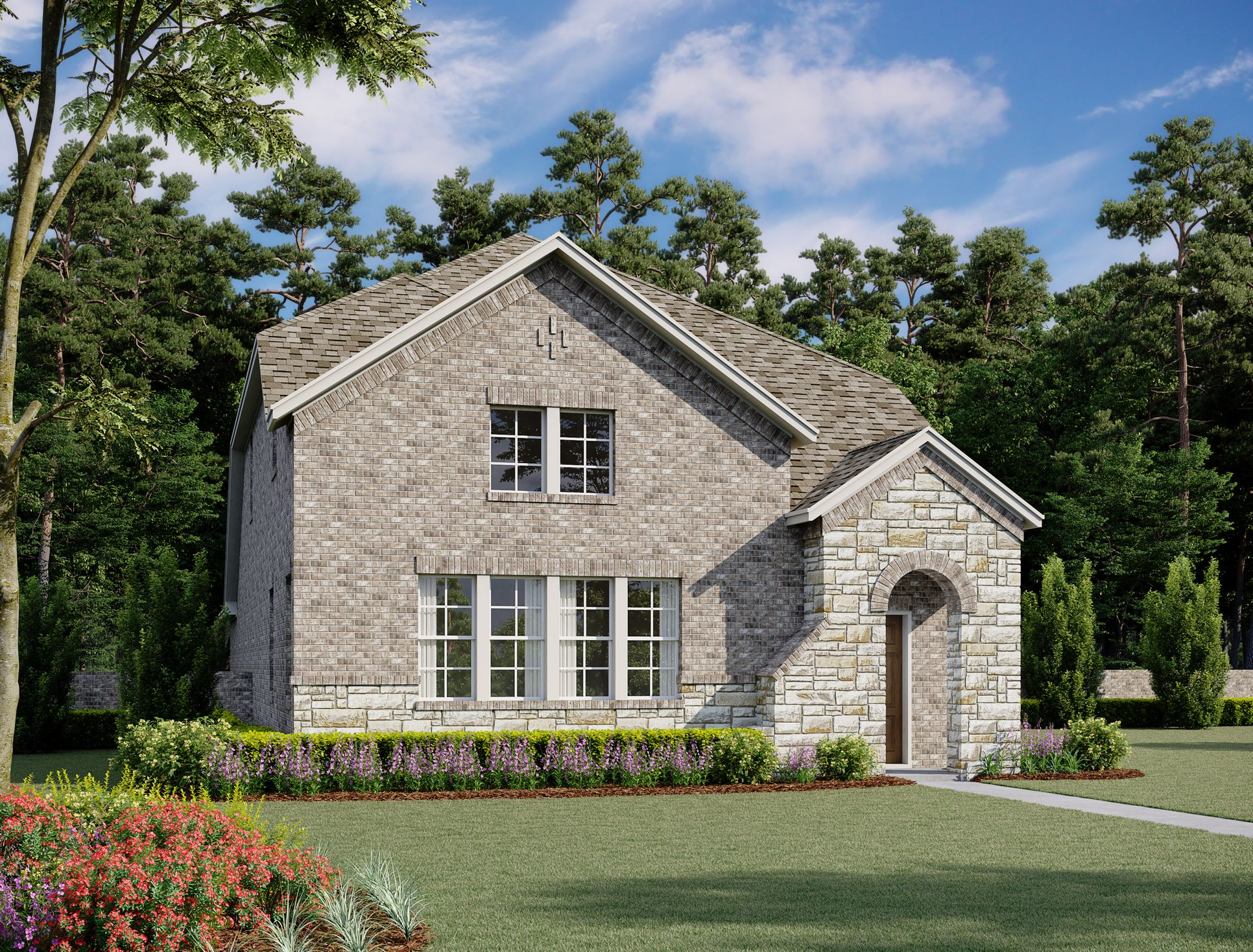 Exterior:Dallas Home Plan by Ashton Woods
