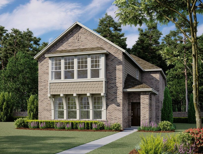 Exterior:Frisco Home Plan by Ashton Woods