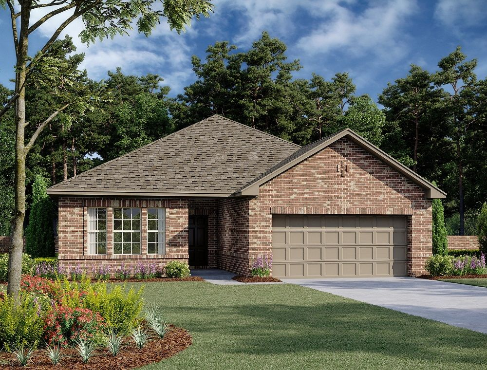 Exterior:Coleman Home Plan by Ashton Woods