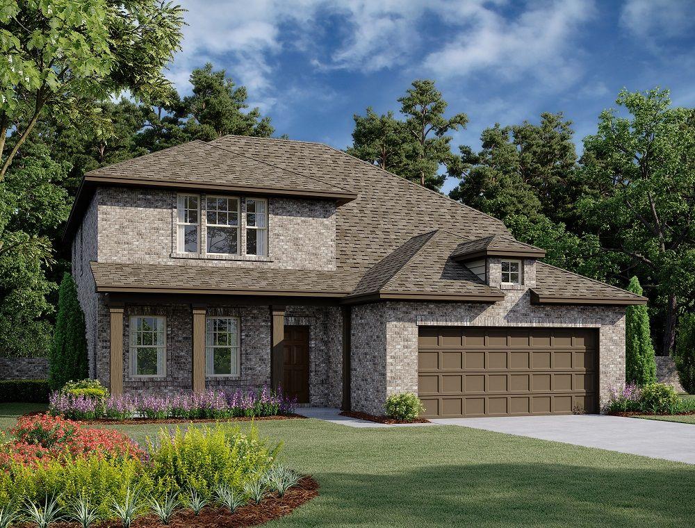 Exterior:Grayson Home Plan by Ashton Woods