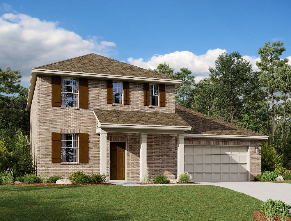 Exterior:Sterling Home Plan by Ashton Woods
