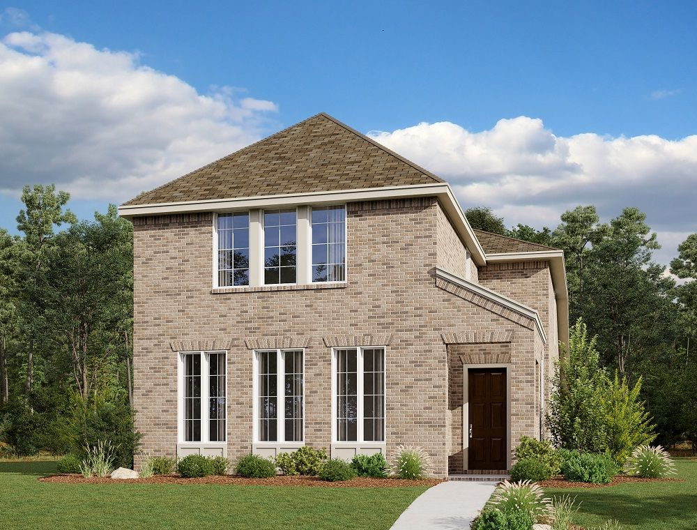 Exterior:Thorpe Home Plan by Ashton Woods