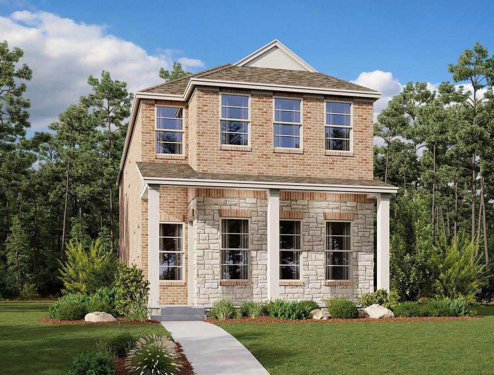 Exterior:La Salle Home Plan by Ashton Woods
