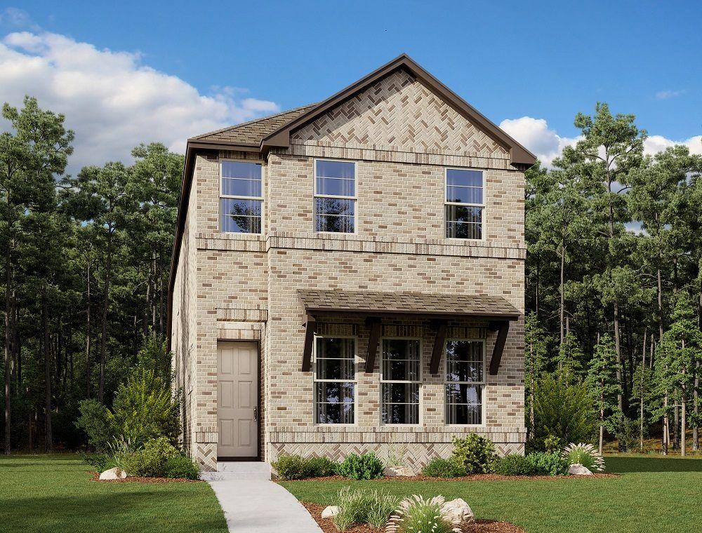Exterior:Urban Trails Cottages - Cotton Belt Elevation Image 1