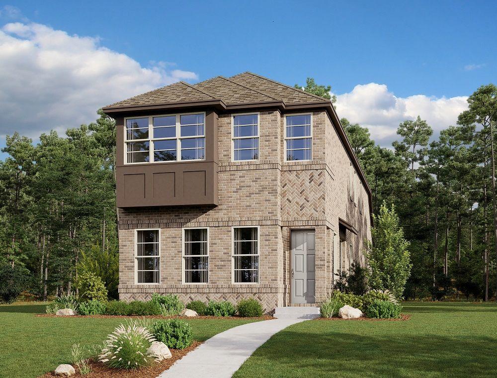 Exterior:Urban Trails Cottages - Big Spring Elevation Image 1