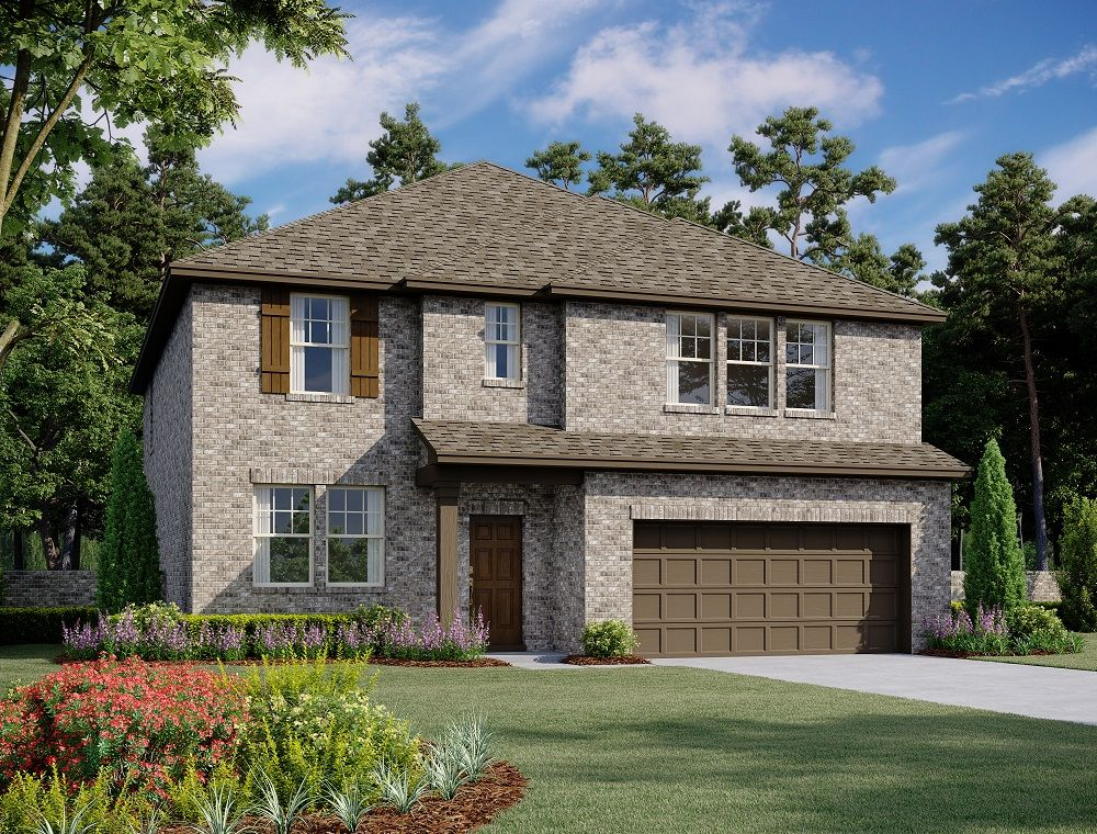 Exterior:Meadow Run - Caldwell Elevation Image 1