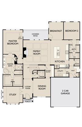 Floor Plan:Wesley First Floor