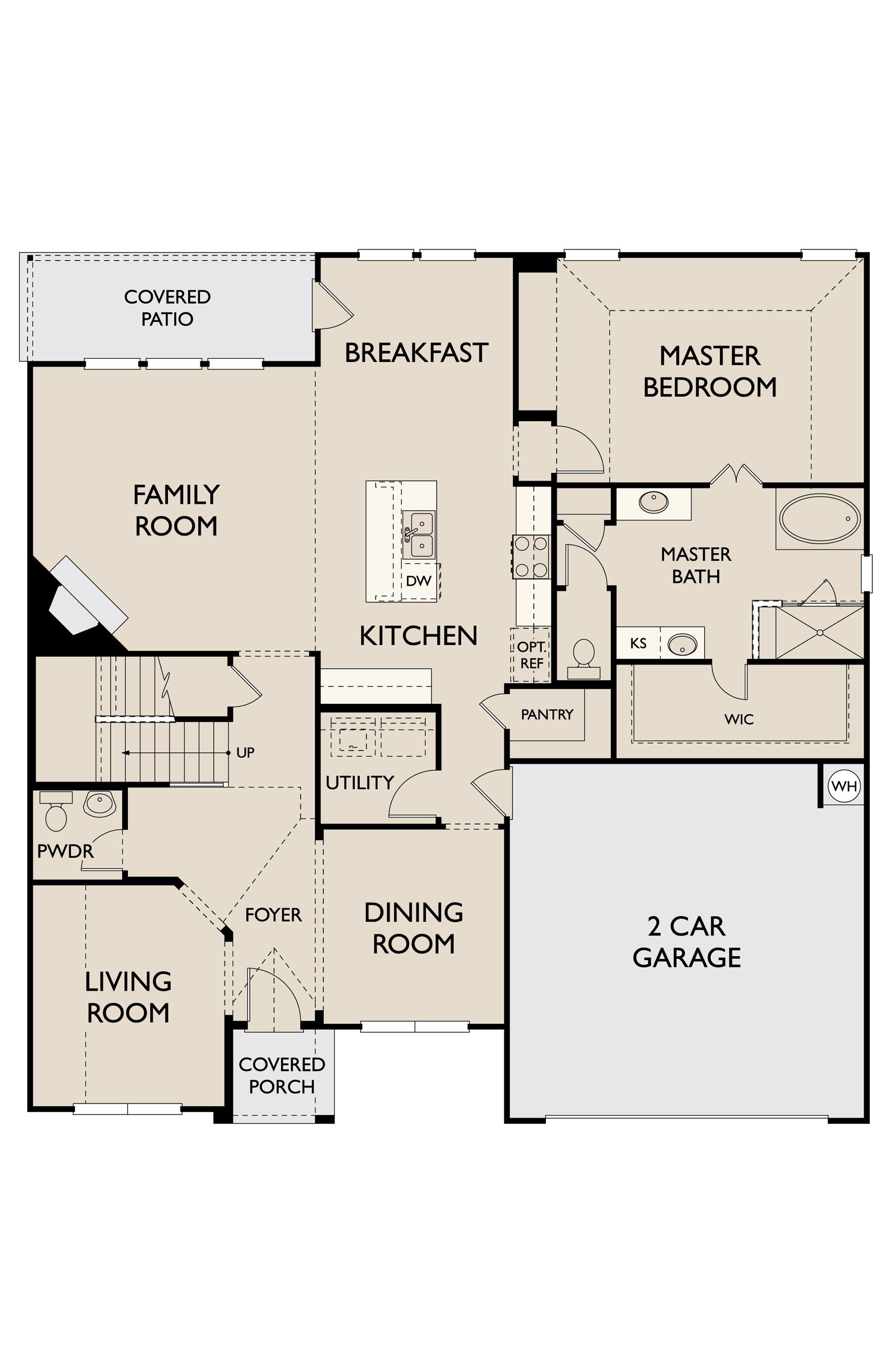 Floor Plan:Nueces First Floor
