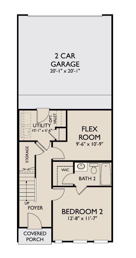 Floor Plan:Adrianna First Floor
