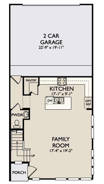 Floor Plan:Monroe First Floor