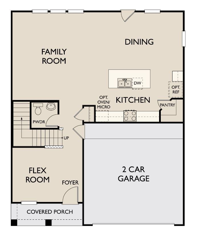 Floor Plan:Brenham First Floor