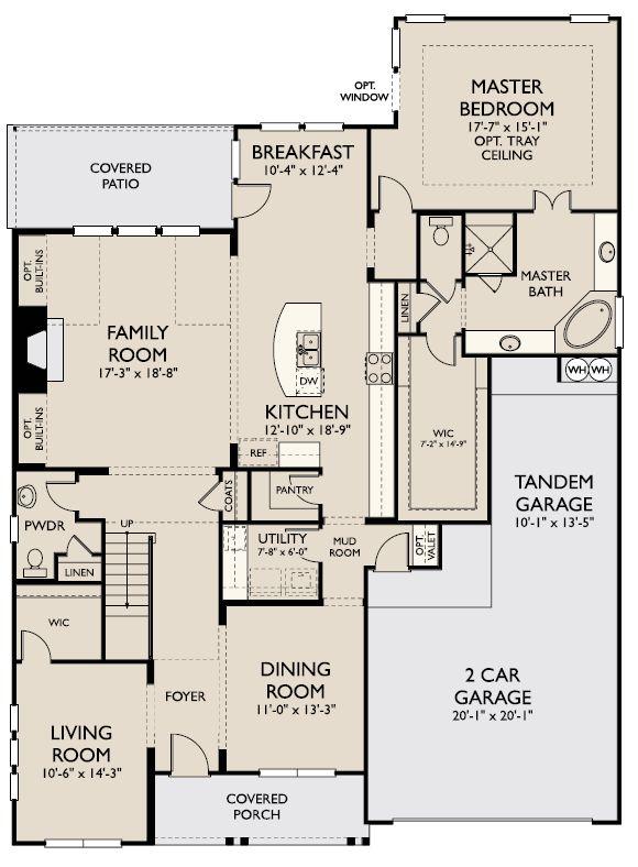 Floor Plan:Firethorne - Hathaway Plan Image 1