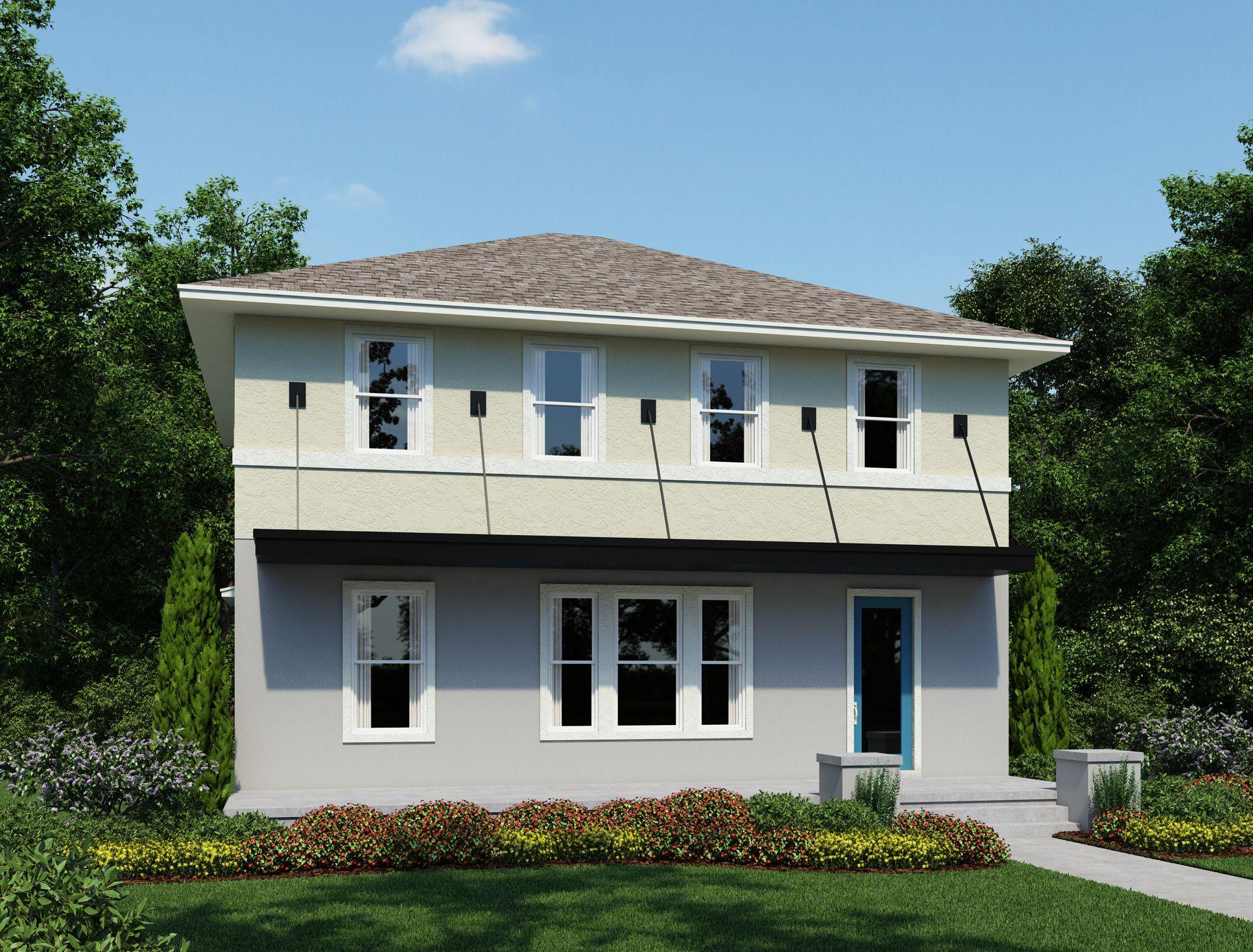 Exterior:Laureate Park - Riley Elevation Image 1