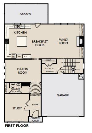 Floor Plan:Halstead - Marlow Plan Image 1