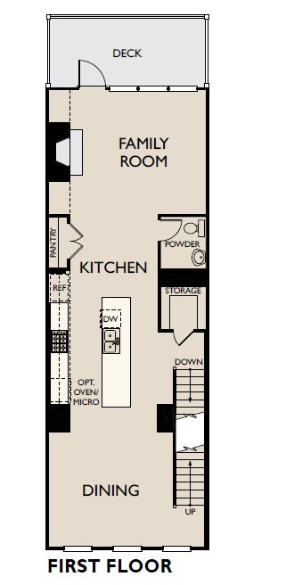 Floor Plan:Reverie on Cumberland - Allegro Plan Image 1