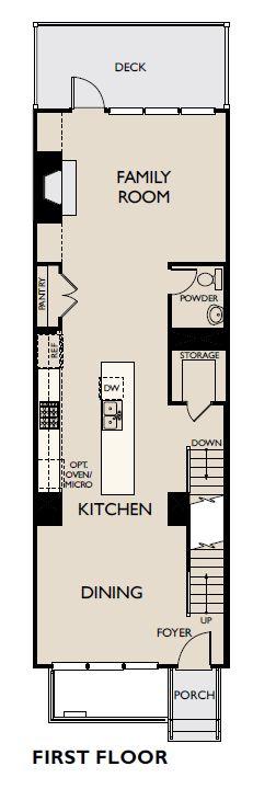 Floor Plan:Reverie on Cumberland - Prelude Plan Image 1