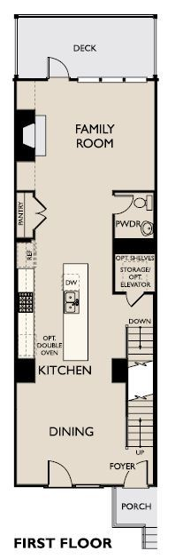 Floor Plan:Reverie on Cumberland - Prelude Plan Image 1