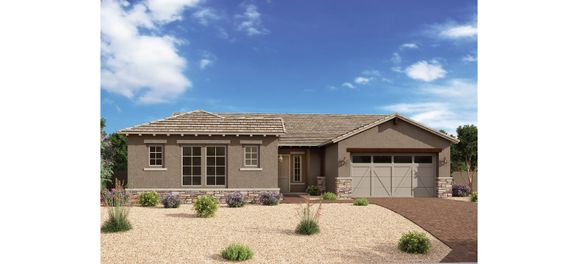 Exterior:Estates at Eastmark - Myrtle  Elevation Image 1