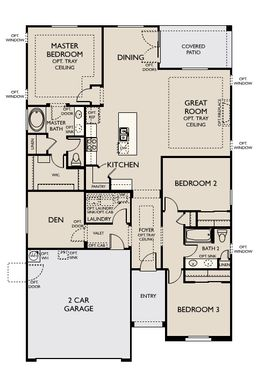 Floor Plan:Eastmark - Ashley Plan Image 1