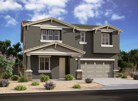 Exterior:The Reserve at Mountain Trails - Oxford Elevation Image 1
