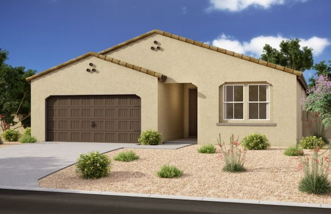 Exterior:10617 S. 55th Drive - Lot 136 - Claridge Elevation Image 2