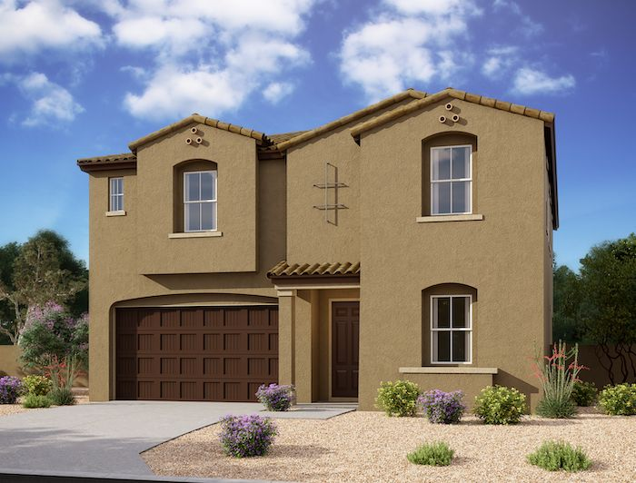 Exterior:5537 W Stargazer Place - Lot 118 - Stafford Elevation Image 2