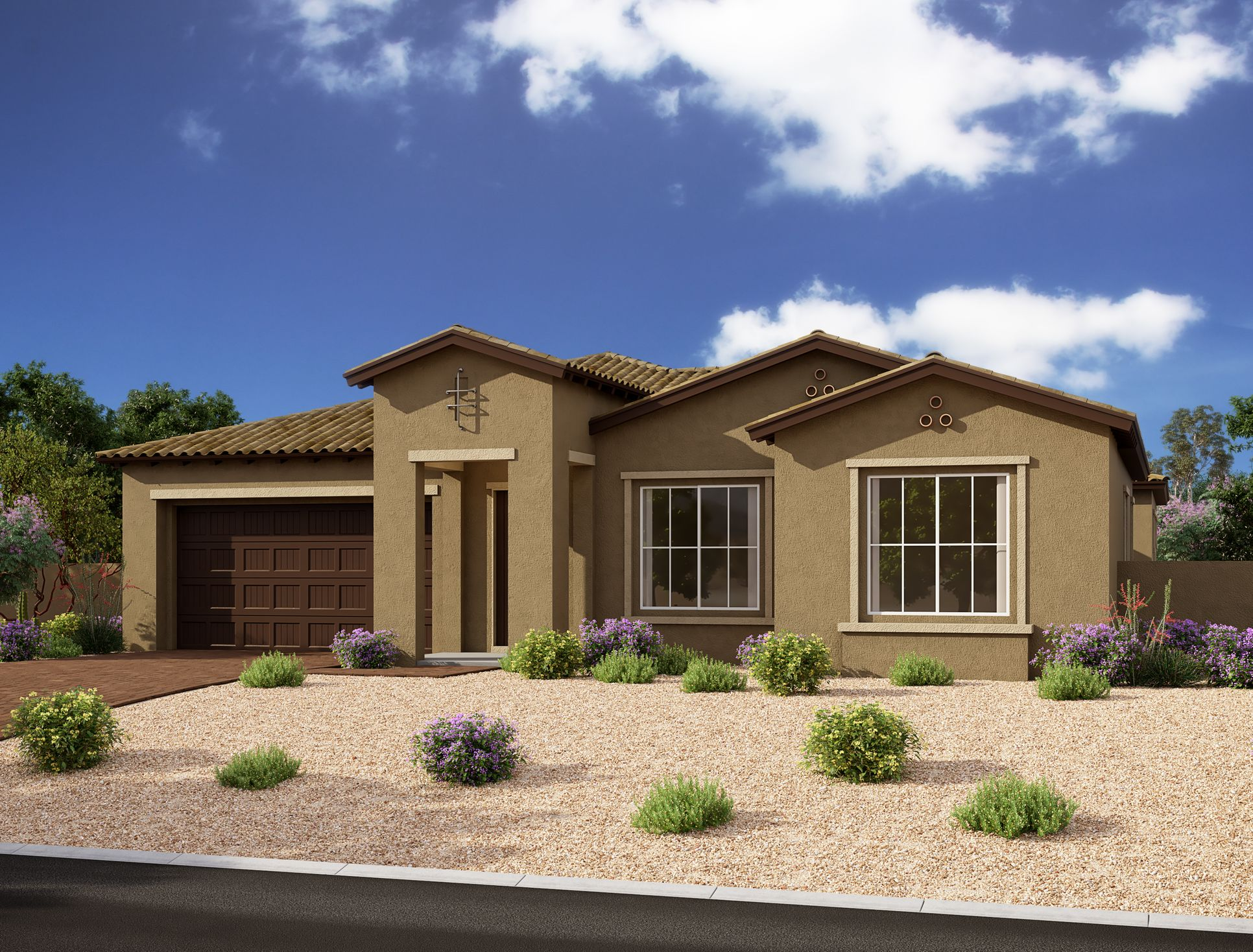 Exterior:Estates at Eastmark - Juniper Elevation Image 2