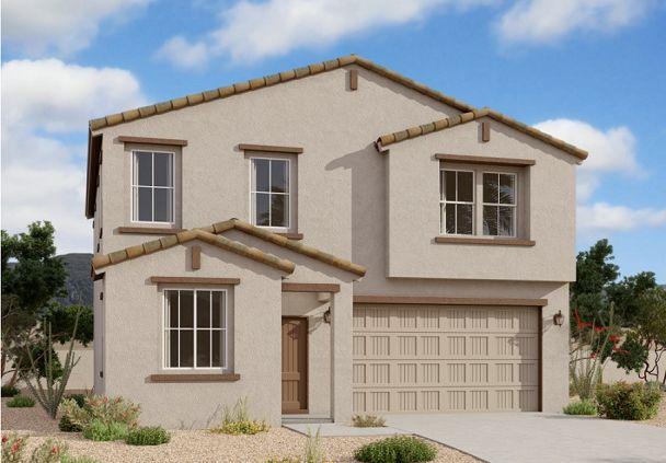 Exterior:35963 W San Clemente Ave - Lot 49 - Dahlia Elevation Image 1