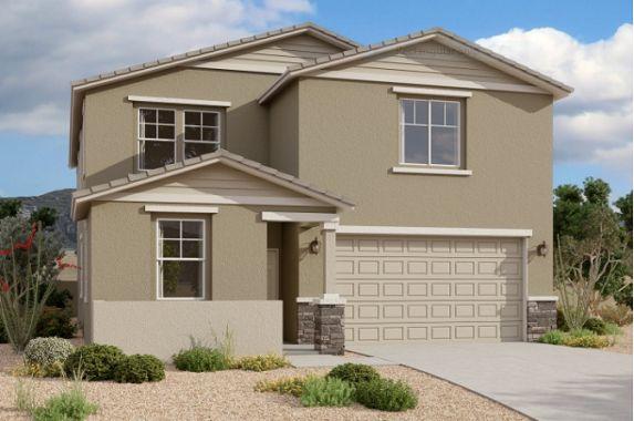 Exterior:35893 W. San Clemente Ave. - Lot 44 - Snapdragon Elevation Image 1