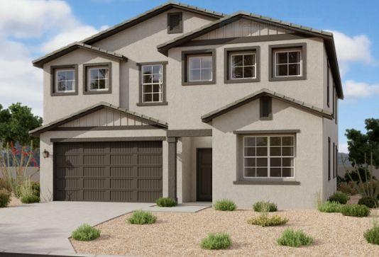 Exterior:35858 W. Santa Monica Ave. - Lot 17 - Daisy Elevation Image 1
