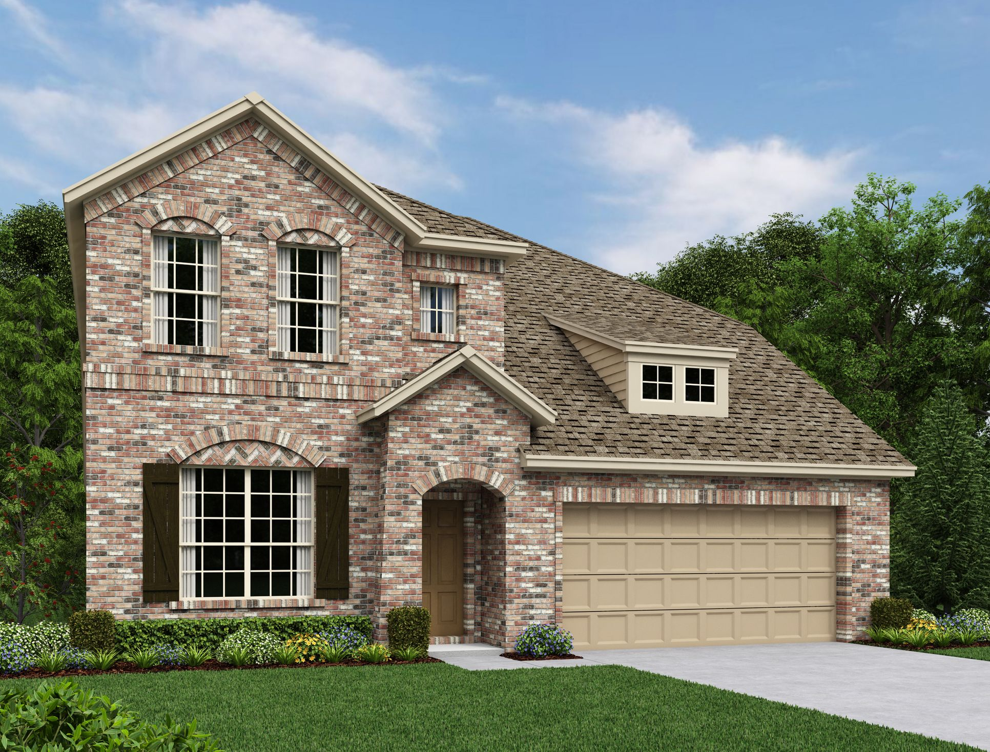 Exterior:Waterford Park - Katy Elevation Image 1