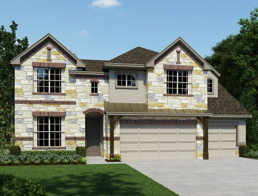 Exterior:The Estates at Stone Crossing - Guillermo Elevation Image 1