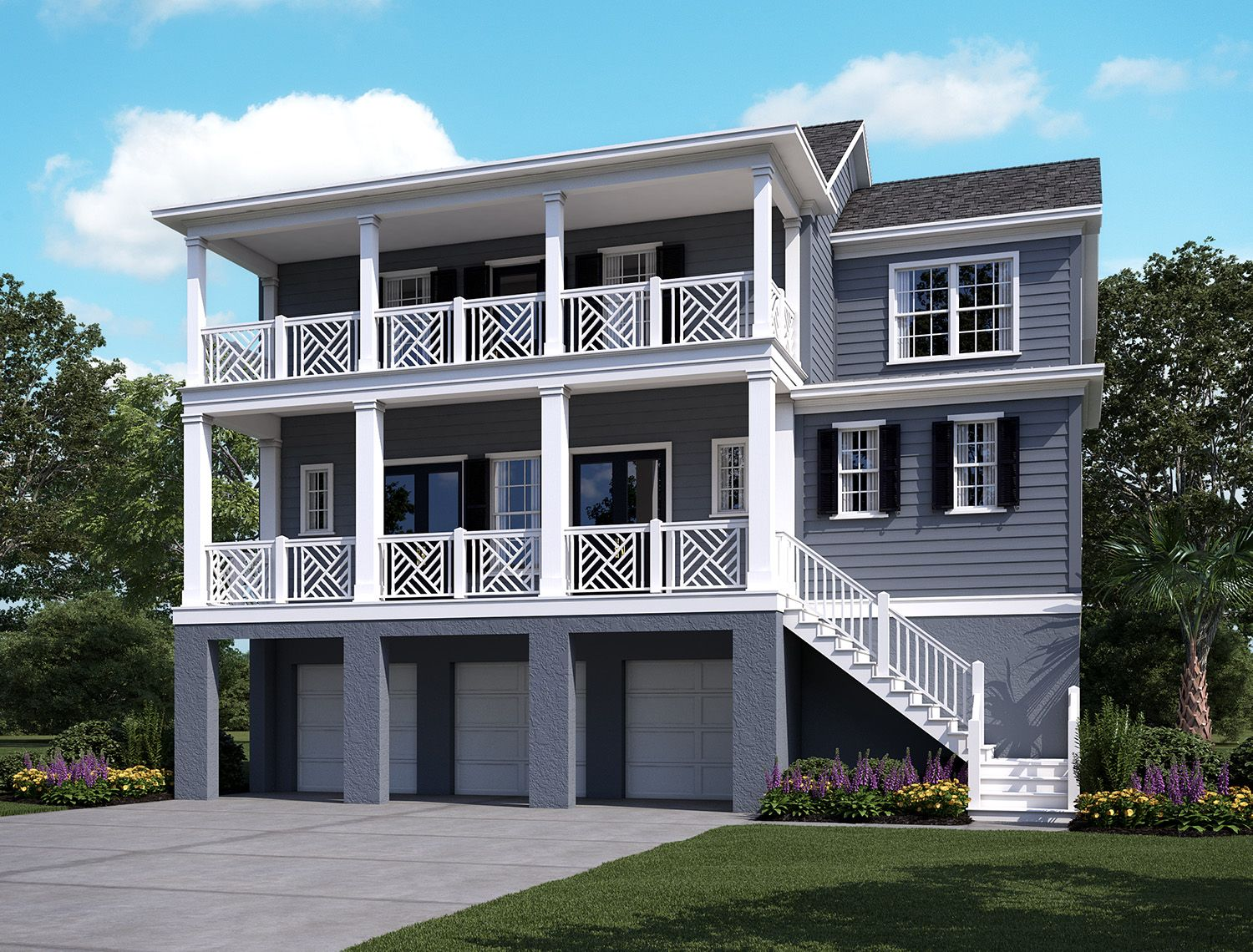 Exterior:Stratton by the Sound - Copahee Elevation Image 1