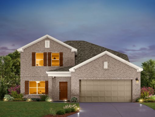 Exterior:Highlands at Mayfield Ranch  - Winchester Elevation Image 1