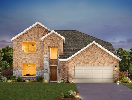 Exterior:Highlands at Mayfield Ranch  - Aubrey Elevation Image 1
