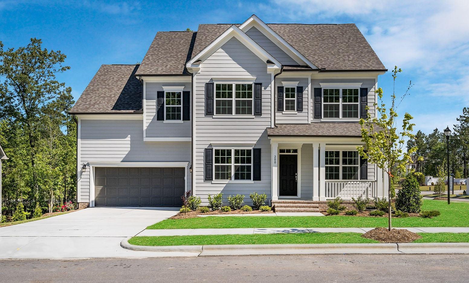 Exterior:200 Silent Bend Dr., Homesite 12 Elevation Image 1