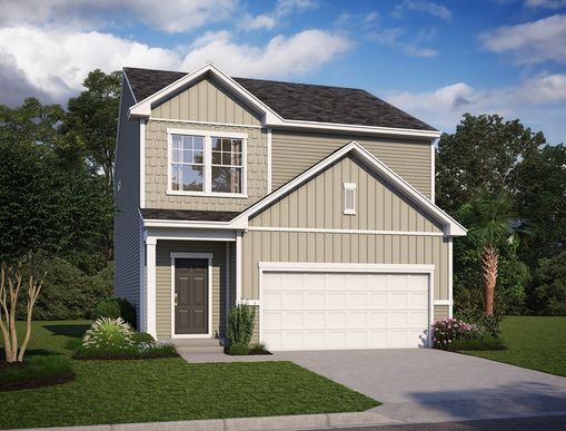 Exterior:1427 Thin Pine Drive, Homesite 7 Elevation Image 1