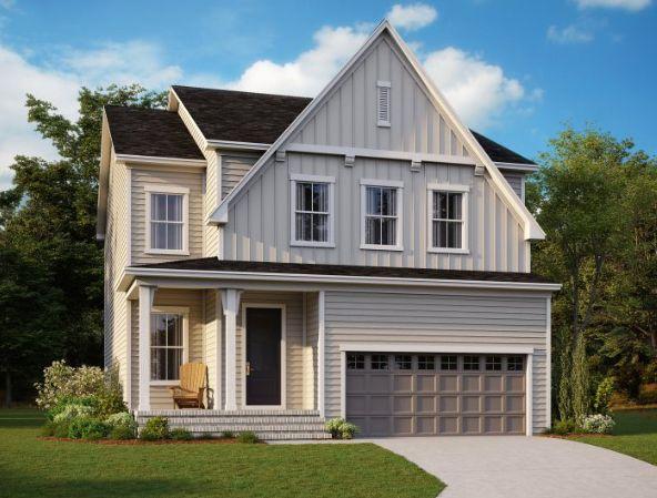 Exterior:1000 Amanda Court, Homesite 19 Elevation Image 1