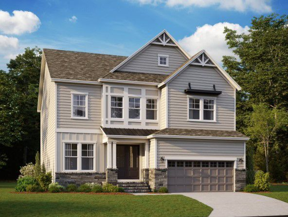 Exterior:1025 Amanda Court, Homesite 26 Elevation Image 1