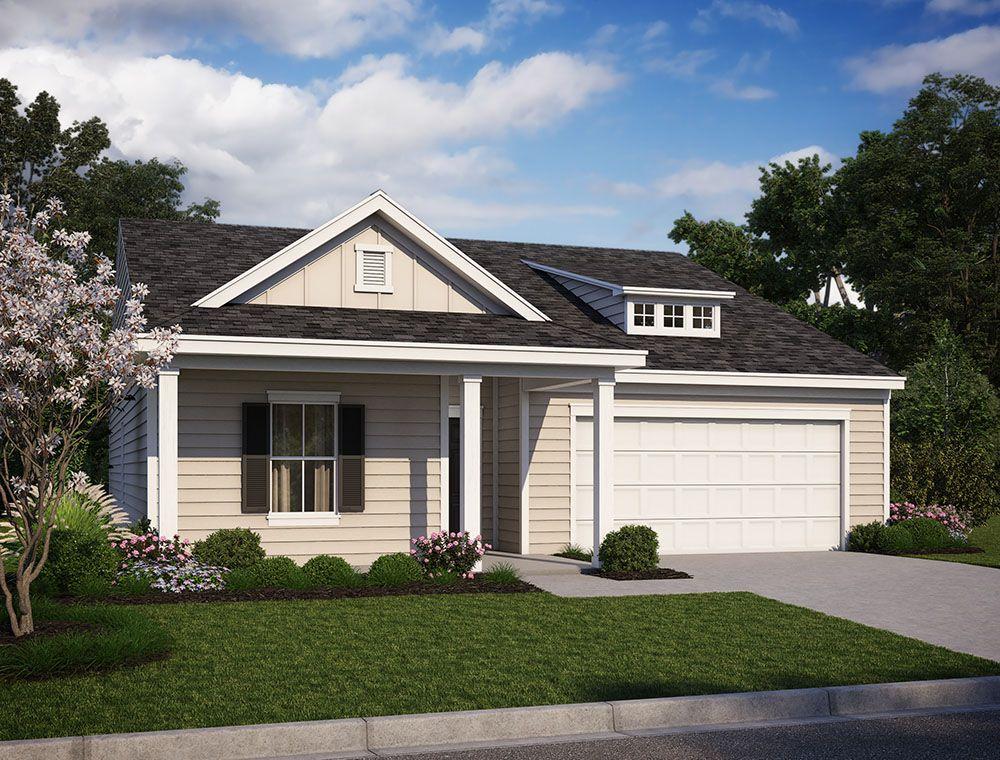 Exterior:425 Carrara Drive, Homesite 87 Elevation Image 1